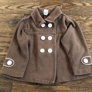 Old Navy Brown & Pink Pea Coat